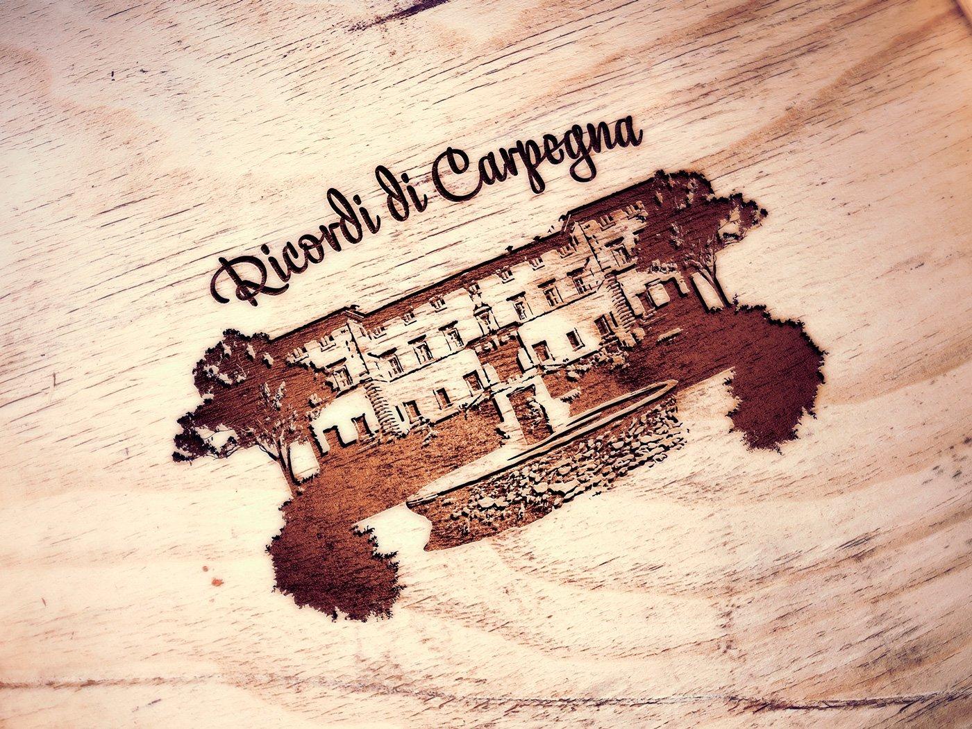 Grafica RicordiCarpegna logo